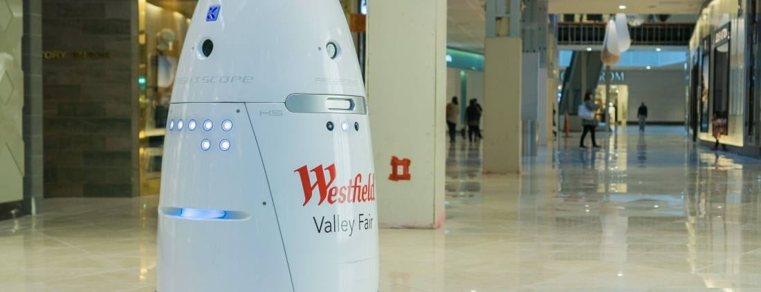 Wincon robot security guard ideal for malls and commercial buildings