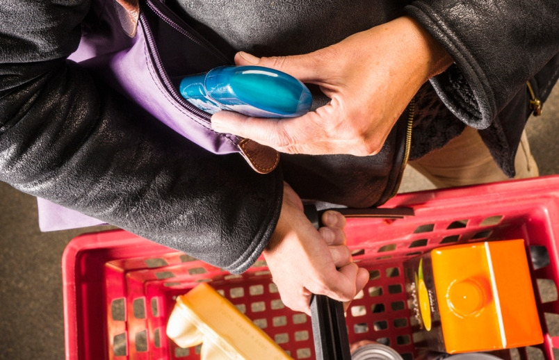 Holiday Retail Theft shoplifting - hire retail security